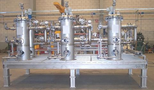 Filtration skid for offshore service